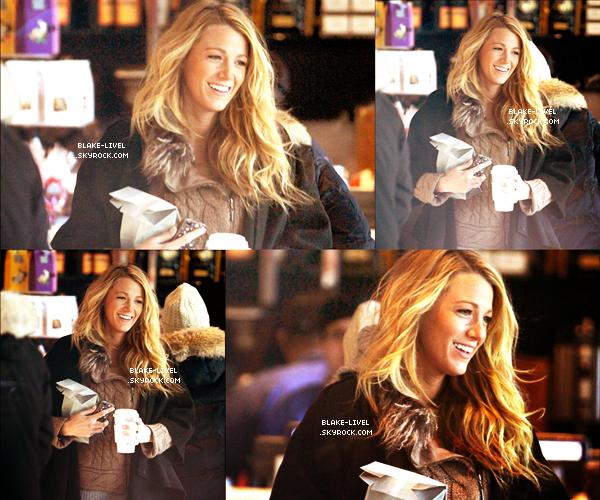 05/03/12 Blake encore une fois sur le tournage de Gossip Girl à New York.