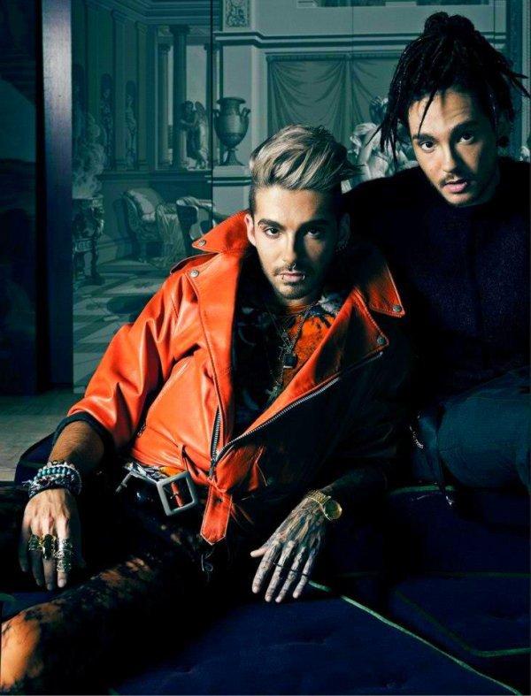 nouvelle photo de Bill et Tom elle est juste superbe !