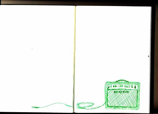 Carnet de croquis, suite (avec la couverture en bonus..)