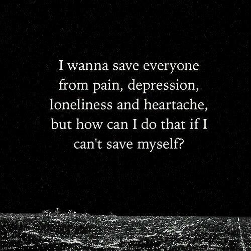 """""""Parfois il faut savoir se sauver soi-même"""""""