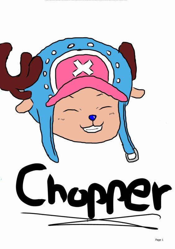 chopper ( One Piece )