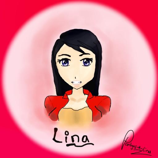 paint tool sai teste : Lina