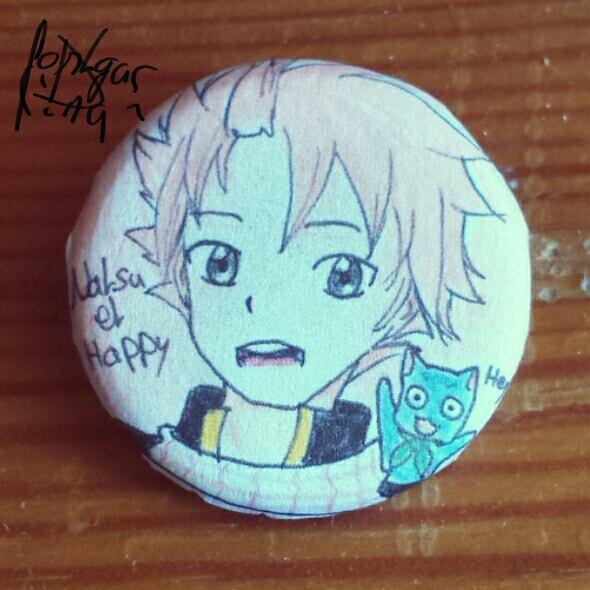 Badge: Natsu et Happy