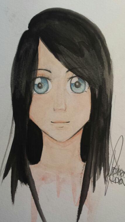 Semi-portrait : Lina