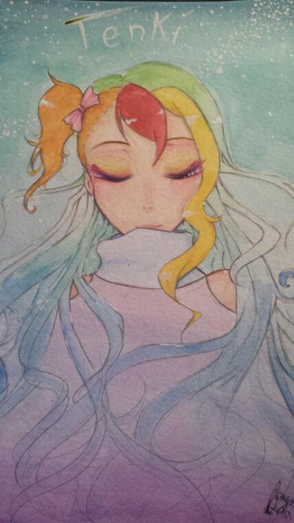 Cadô d'anniv' + Fan'art : Mizuno & Tenki