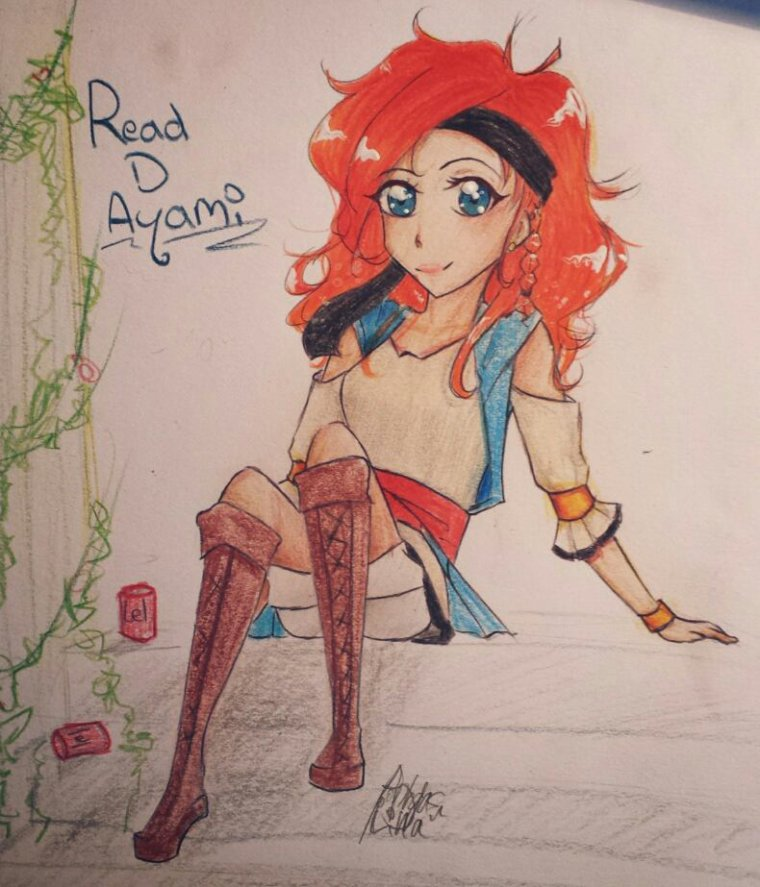 Fan'art: Read D Ayami