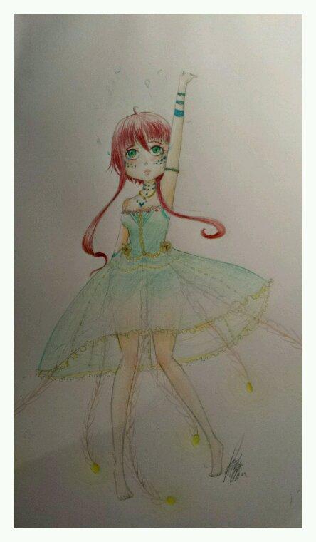 La fille méduse