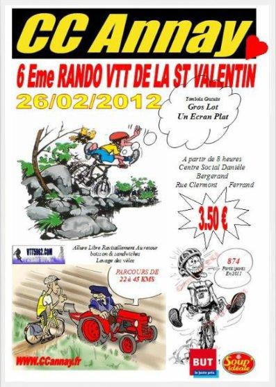 Randonnée de la St Valentin (Annay)