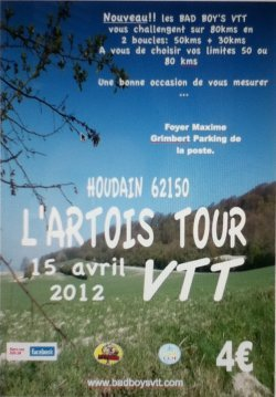 L'artois tour VTT (Houdain)