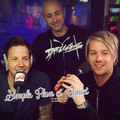 Simple Plan et Cauet