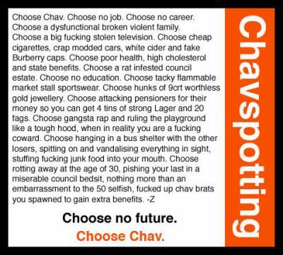 f6dda2710b4 CHOOSE CHAV!!! ASBO   Anti-Social Behaviour Orders - STAY RUDE !