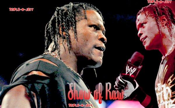 Résultats de Raw !