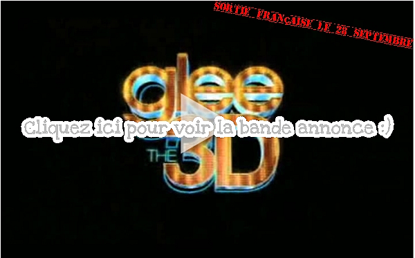 Glee 3D: The concert movie!