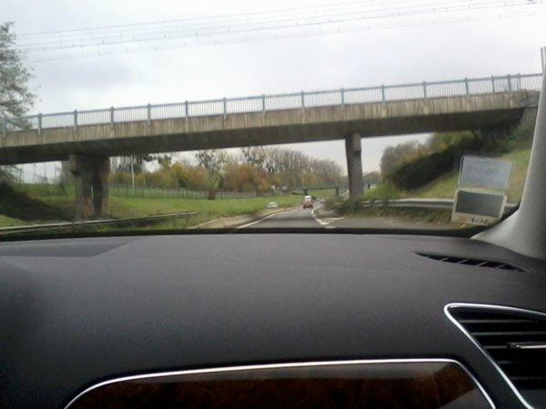 Sur le pont , passe le RER A