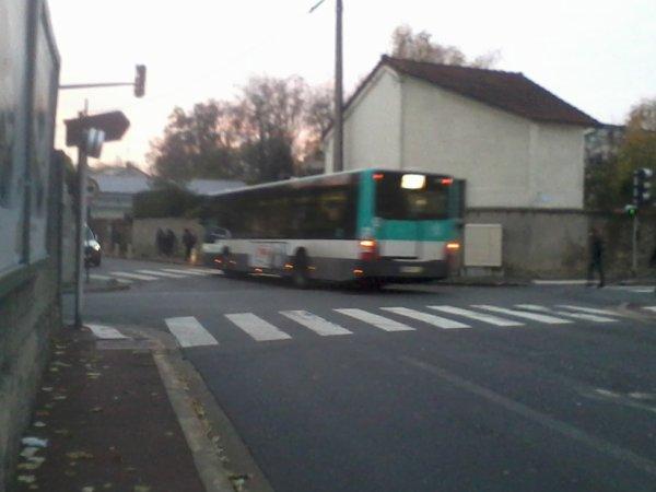 BUS 207 pour l'Hopital de la Queue-en-Brie