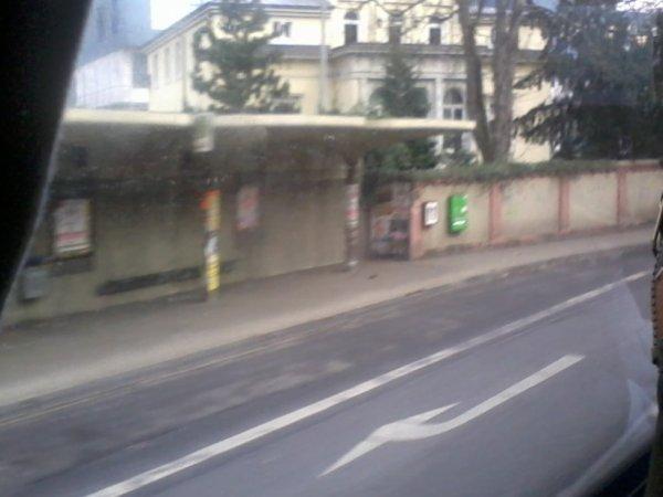 Arrêt de bus dans Trèves
