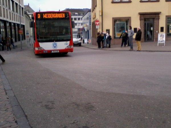 BUS 3 de la SWT à la Porta Nigra