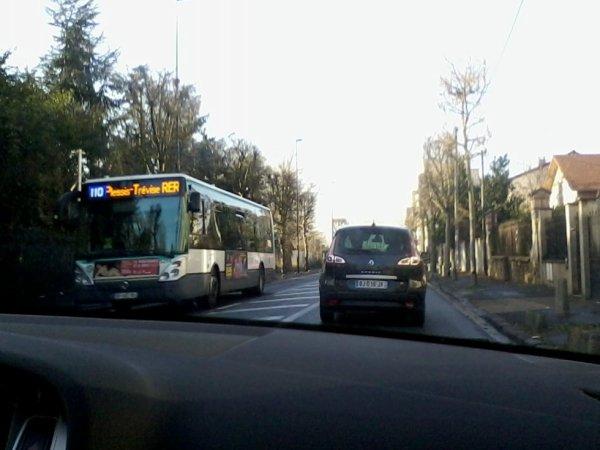 BUS 110 pour Villiers-RER en Citelis 12 n°5297