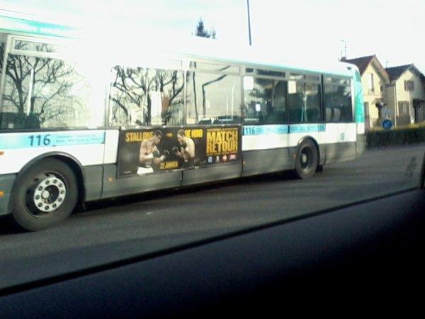Bus 116 pour Rosny Ccial 2 en Agora V2