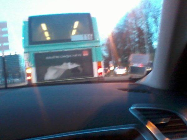 Un Bus 116 pour Champigny Saint-Maur RER  mais cette-fois-ci en Agora Line