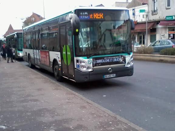 BUS 110 pour Villiers-RER en Citelis 12 n°5259