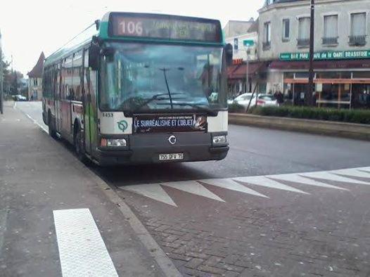 BUS 106 à Villiers-RER (n° 8453 )