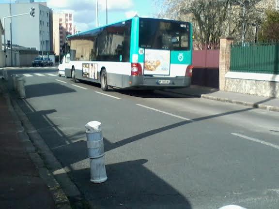BUS 207 pour Noisy-Le-Grand Mont d'Est RER  (9619 du 206/207)