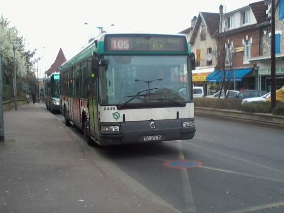La 8449 du 106 pour Joinville RER