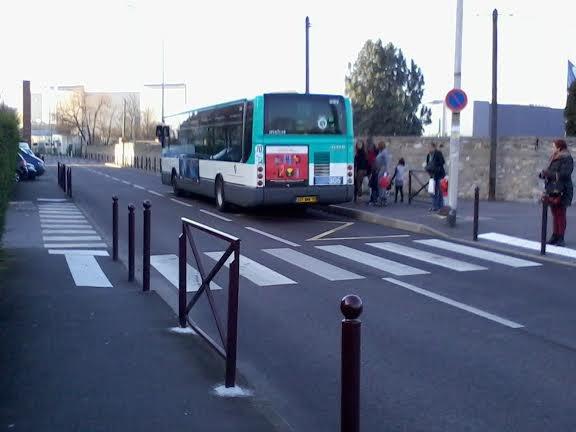 La 3123 du 111 sur le 306 pour Saint-Maur-Créteil RER