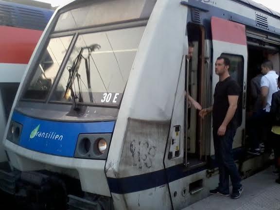 Mon train qui j'ai pris pour arriver chez moi ... La 30 E mission TIVA