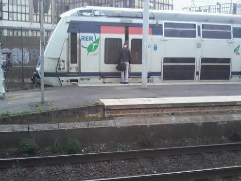 RER E mission HOTA  à  Gare du Val de Fontenay