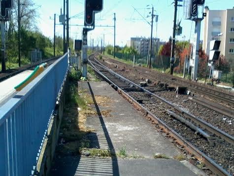 La gare de Villiers-Sur-Marne direction Haussmann-Saint-Lazare