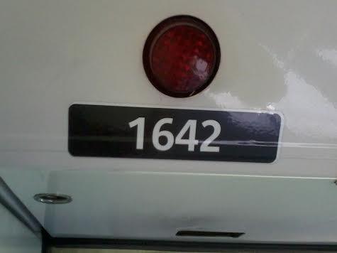 L'étiquette de la Z1642