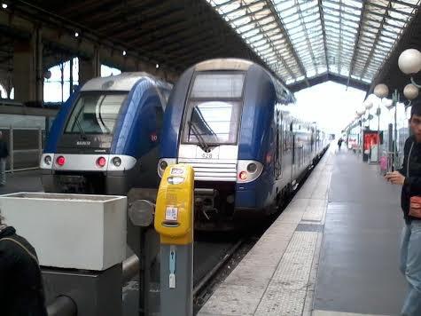 Un duo de TER à la gare du Nord