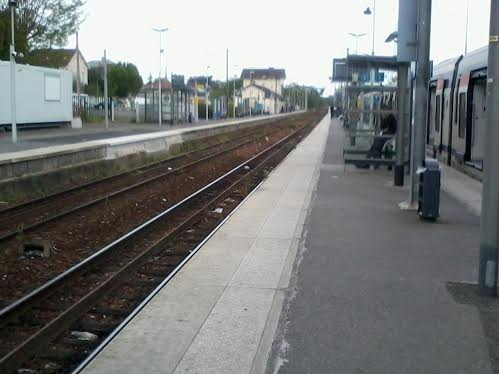 Gare de Tournan direction Coulommiers