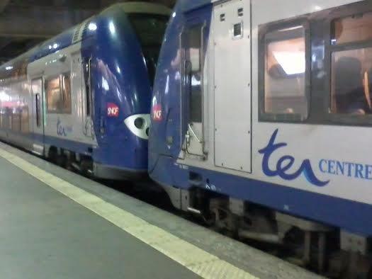Un UM de TER Centre à Montparnasse