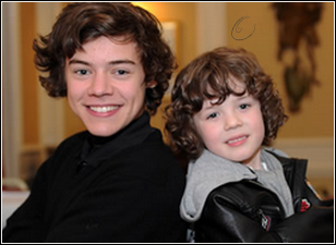 _ Harry and his young look-alike !_