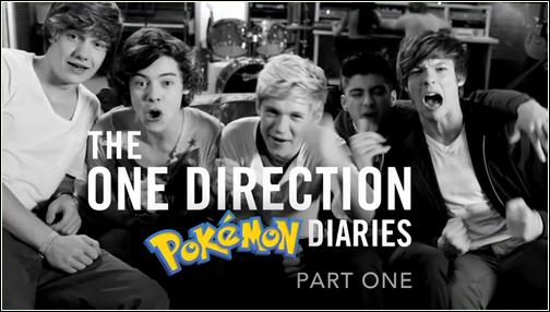_ One Direction on Tour - The Pokémon Diaries Episode 1_