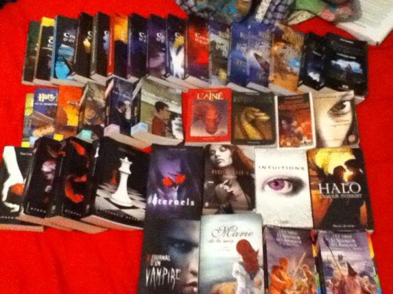 J'adore lire, c'est ma passion. <3