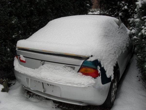 Jeudit 2 Decembre plien de Neige .