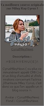 CYRUSMILEYNEWS   Une magnifique source sur Miley Cyrus