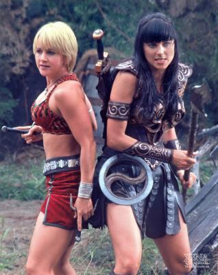 Xena & Gabrielle 01