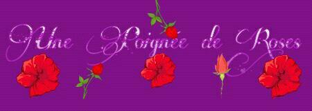 Une Poignet de Roses