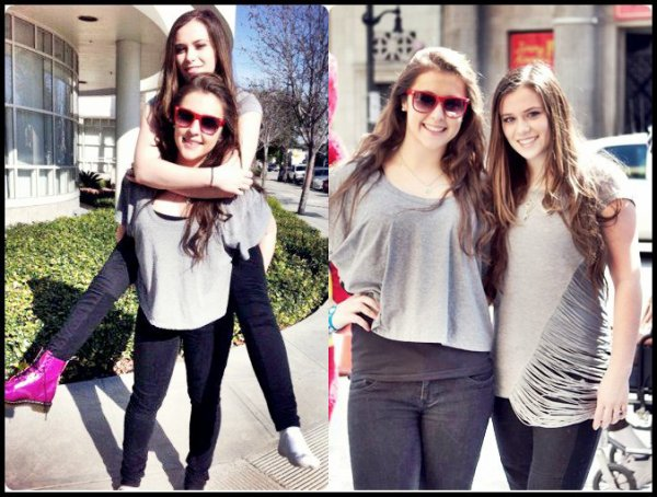 Caitlin Beadles : Une journée avec Chloé, une de ses amie à Los Angeles + ancienne photos