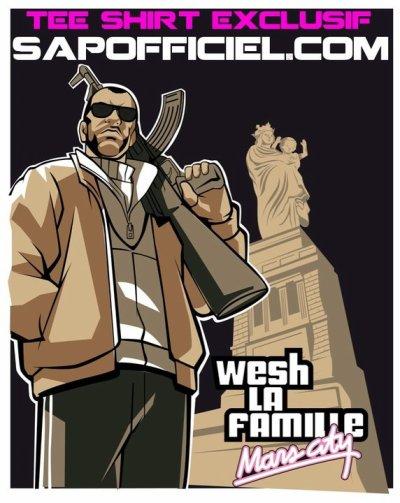 """Tshirt """"WLF KALASH"""""""