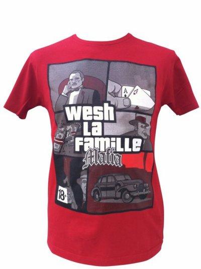 "Tshirt ""WLF MAFIA"""