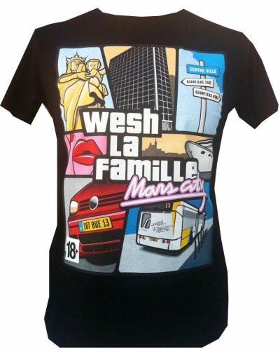 """Tshirt """"Wech la famille"""""""