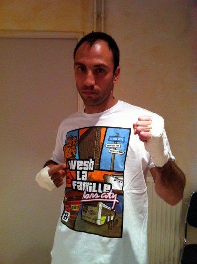 Fred  Gargani pour WLF