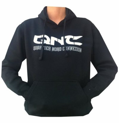 "Sweat a capuche ""QNC"""