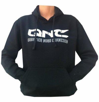 """Sweat a capuche """"QNC"""""""